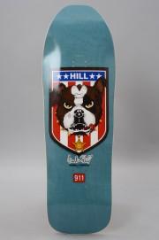 Plateau de skateboard Powell peralta-Reissue Hill  Bulldog Blue 10.0 X 31.5-2017