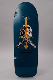 Plateau de skateboard Powell peralta-Rodriguez Reissue Skull Sword Blue-2017