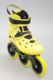 Rollers 3 roues Powerslide-Imperial Mega Cruiser 125 Neon Yellow-2016