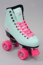 Rollers quad Powerslide-Melrose Turquoise Pink-2015