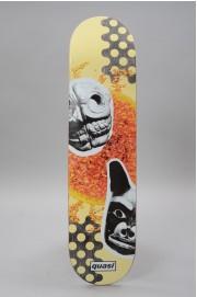 Plateau de skateboard Quasi-Mask One  Crème 8 X 32.125-2017