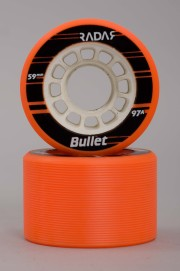 Radar-Bullet Orange 59mm-97a Vendues Par 4-2018