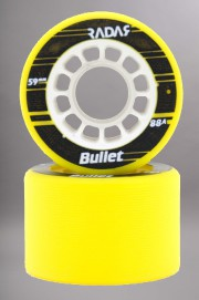 Radar-Bullet Yellow 59mm-88a Vendues Par 4-INTP
