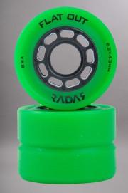 Radar-Flat Out Green X4 62mm/88a-INTP
