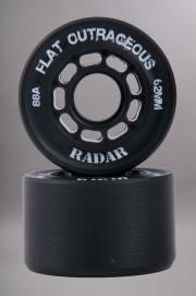 Radar-Flatoutrageous Black X4 Black 62mm/88a-INTP