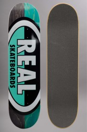 Plateau de skateboard Real-50-50 Oval-2017
