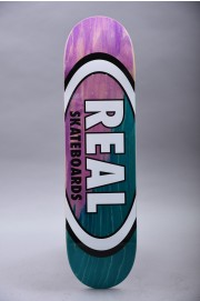 Plateau de skateboard Real-Angle Dip Oval Purple Teal 8.38 X 32.56-2018