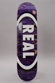 Plateau de skateboard Real-Deck Spectrum Ovals-2017