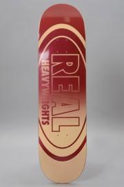 Plateau de skateboard Real-Heavyweights Burgundy-2017