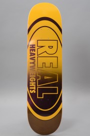Plateau de skateboard Real-Heavyweights Yellow-2017