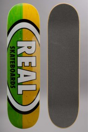 Plateau de skateboard Real-Two Tone Oval 8.25-2016