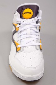 Chaussures Reebok-Pump Omni Lite White/purple-SS14
