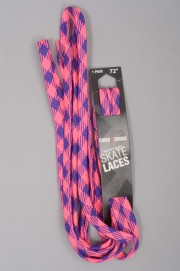 Riedell-Lacets Plaid Pink/purple-INTP