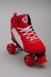 Rollers quad Rio roller-Pure Red/white-2016