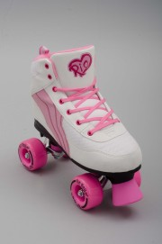 Rollers quad Rio roller-Pure White/pink-2016