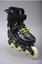 Rollers freeskate Rollerblade-Twister 80 Le Anthracite/lime-2017