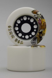 Rollerbones-Day Of The Dead 62mm-86a Vendues Par 4-2016