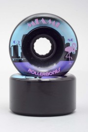 Rollerbones-Miami Black 65mm-78a-2016