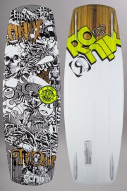 Planche de wakeboard enfant Ronix-El Von Videl Schnook Flex Marker Pack Inclus-SS15