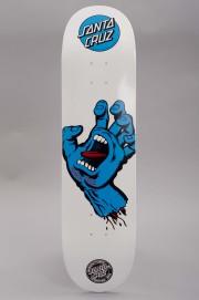 Plateau de skateboard Santa cruz-Deck Screaming  Hand Blue White-2017