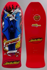 Plateau de skateboard Santa cruz-Grosso Demon Red Reissue-2016