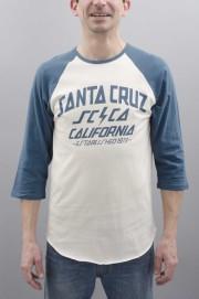 Tee-shirt manches longues homme Santa cruz-Hq 3/4 Si Baseball-SPRING17