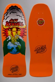 Plateau de skateboard Santa cruz-Kendall End Of The World Org Fluo Reissue-2016