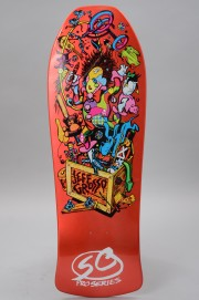 Plateau de skateboard Santa cruz-Reissue Grosso Toybox Candy Orange 10 X 29.5-2017
