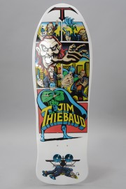 Plateau de skateboard Santa cruz-Reissue Thiebaud  Joker White-2017