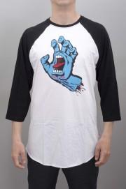Tee-shirt manches courtes homme Santa cruz-Screaming Hand Baseball-SUMMER16