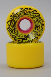 Santa cruz-Wheels Slimeball  Og Yellow 78a-2017