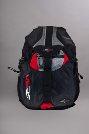 Seba-Backpack Small Black/red-INTP