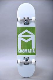 Sk8mafia-House Logo Wht Double Dip 7.87x31.75-2018