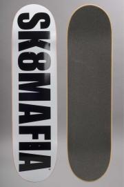 Plateau de skateboard Sk8mafia-Og Logo White-2017