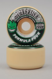 Spitfire-Wheels F4 101d Conical Green Print 54mm-2018
