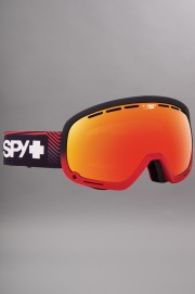 Masque hiver homme Spy-Marshall Stacked Red Hp Silv Mir + Hp Lucid Grn-2017CSV