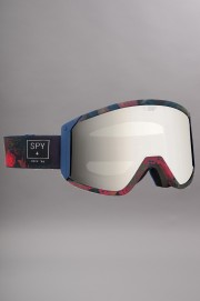 Masque hiver homme Spy-Raider D Mathes Happy Bronze Silv Mir + Blue-2017CSV
