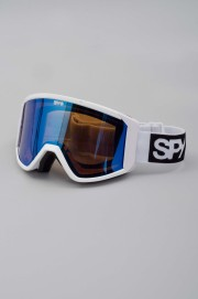Masque hiver homme Spy-Raider Matte White Bronze Light Blue Spec + Persi-2017CSV