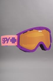 Masque hiver homme Spy-T3 Purple Fade Persimmon-2017CSV