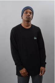 Tee-shirt manches longues homme Stussy-Basic Ls-FW17/18
