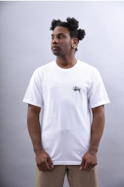 Tee-shirt manches courtes homme Stussy-Basic Tee-SPRING18