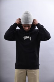 Sweat-shirt à capuche homme Stussy-Stock App Hood-SPRING18