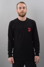 Tee-shirt manches longues homme Stussy-Stock Lion Ls-FW17/18