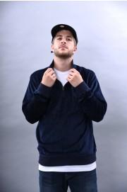 Stussy-Velour Ls Zip Mock-FW18/19