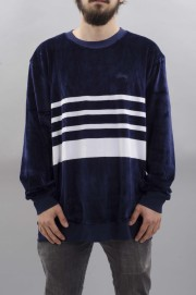 Sweat-shirt homme Stussy-Velour Stripe-SPRING17
