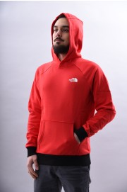 Sweat-shirt à capuche homme The north face-Raglan Red Box-SPRING18