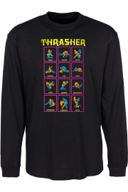 Thrasher-Black Light Ls-FW18/19