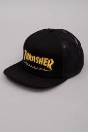 Thrasher-Cap Mag Logo Mesh Emb Black-SUMMER17
