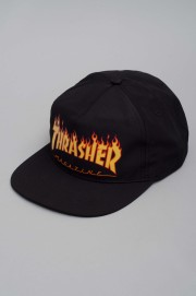 Thrasher-Flame Logo Snap-SS16