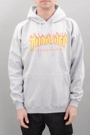 Sweat-shirt à capuche homme Thrasher-Flame-SPRING16